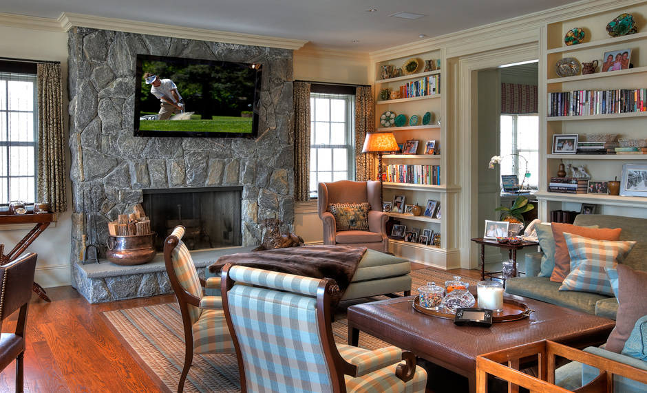 Sarosca Farm Lane, Family Room