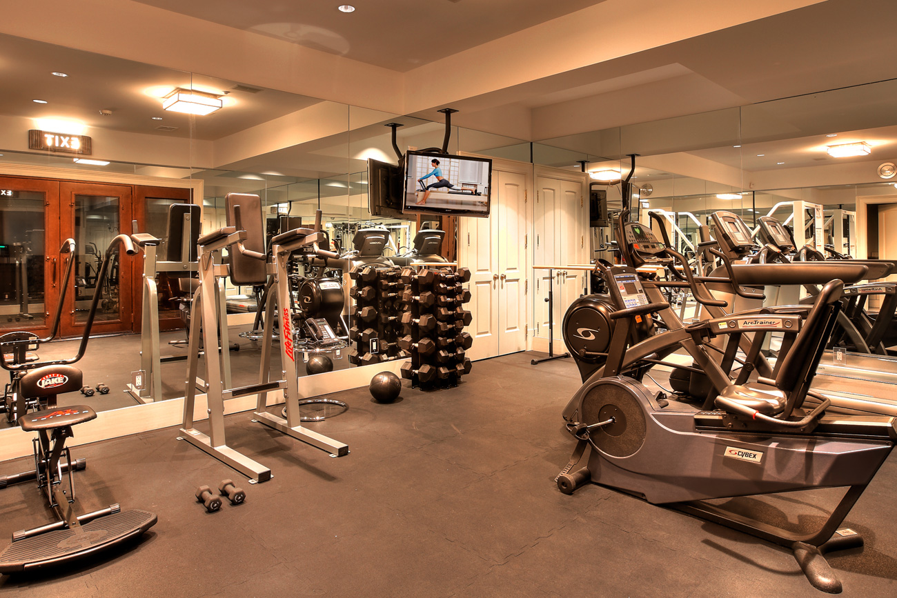 Ideas for exercise room at home amazing perfect design